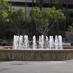 Fountain at Our Hotel