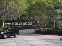 Hollywood Sign at our Hotel