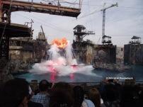 Universal Studios -- Water Works Show