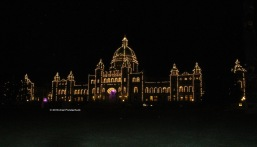 British Columbia Parliament Buildings (at night)