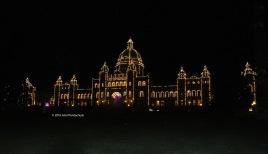 British Columbia Parliament Buildings (at night)