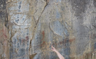 Pictographs (P.S. do NOT touch them!)
