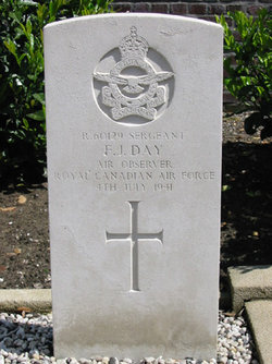 He is buried in Belgium